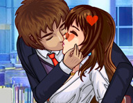 Kiss in Work Hours Game